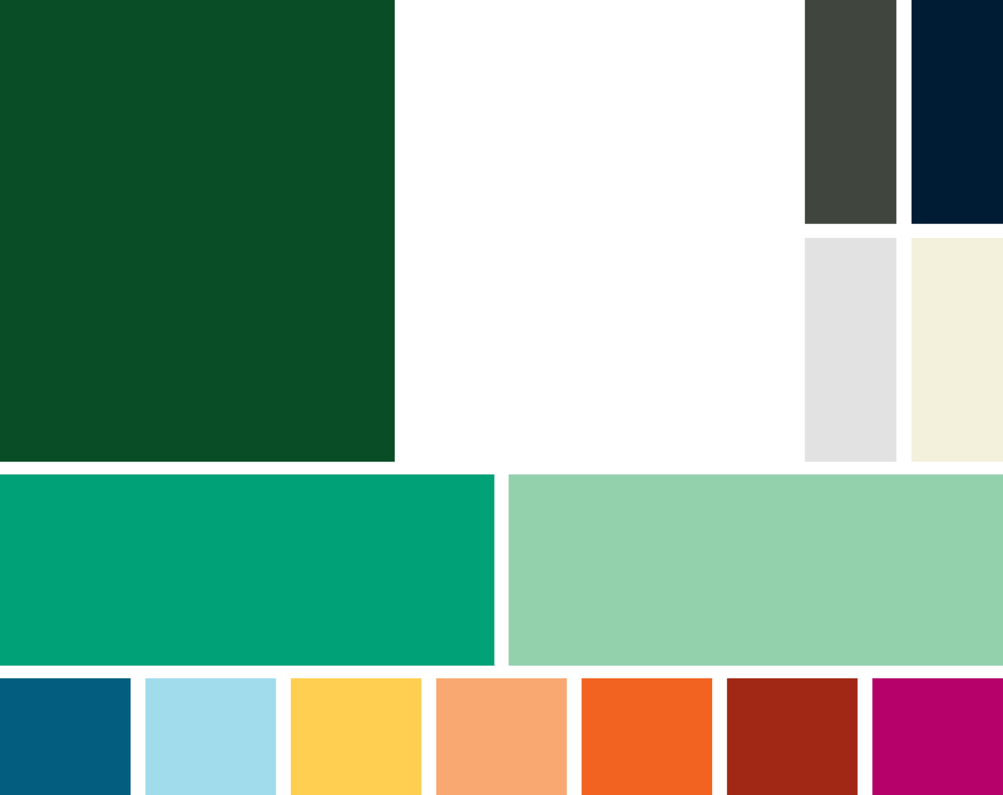 Primary accent colors: Jade and Mint